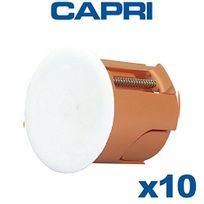 Capri - Lot de 10 appliques Capriclips D40 Prof40 Rénovation