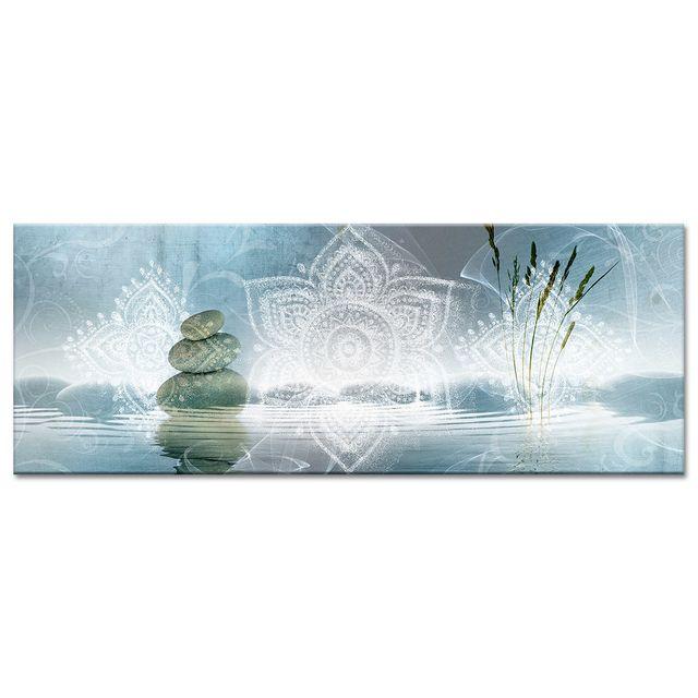 Declina - Tableau zen relaxation pas cher - Tableau panoramique sur toile