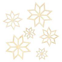 Artemio - Forme en bois Mini-Silhouettes Flocon - Artémio
