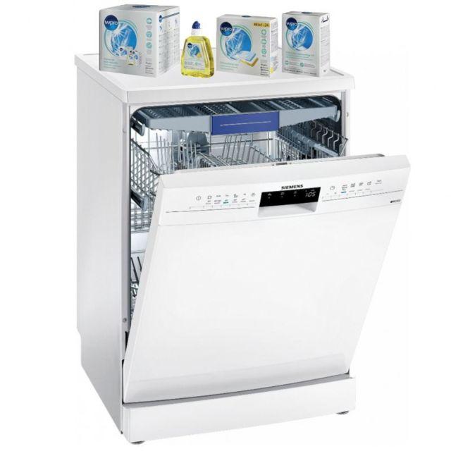 Siemens lave-vaisselle posable blanc 44dB A++ 14 couverts 60cm VarioFlex