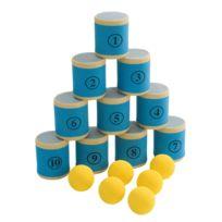 Vinco Educational - jeu du chamboule tout mousse 10 boites + 6 balles