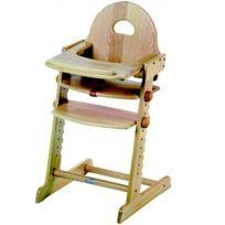 Geuther - Chaise haute naturel minou