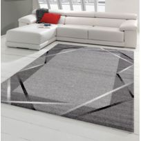 Tapis noir et blanc - catalogue 2019 - [RueDuCommerce - Carrefour]
