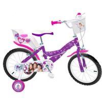 Aucune - Violetta Vélo Enfant Fille 16 Pouces 5/7 ans