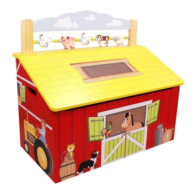 FANTASY FIELDS Coffre à jouets Happy Farm