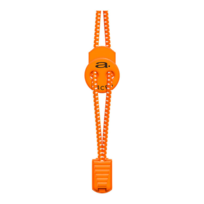 Aquaman - Lacets Élastiques A-lace orange blanc