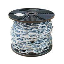 Chaubeyre - Chaîne à maille longue - acier zingué - bobine de 20 m - 8 mm