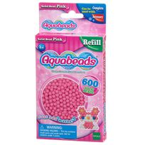 Aquabeads - Recharge de 600 perles roses