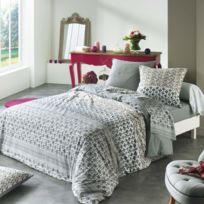 - Housse de couette + taie Anaya Gris