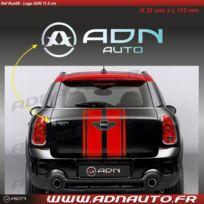 Adnauto - Autocollant - Logo horizontal - Chrome - 11.5cm - Adnlifestyle