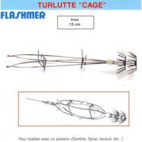 Flashmer - Turlutte De Peche Cage Inox
