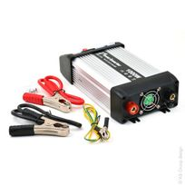 Energie Mobile - Convertisseur quasi sinus 1500W 12V Dc - 230V Ac