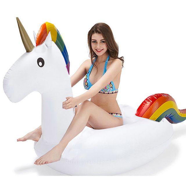 touslescadeaux licorne gonflable pour piscine pas cher achat vente jeux de piscine. Black Bedroom Furniture Sets. Home Design Ideas