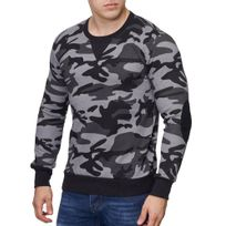 506a8d9484396 Pull camouflage homme - Achat Pull camouflage homme pas cher ...