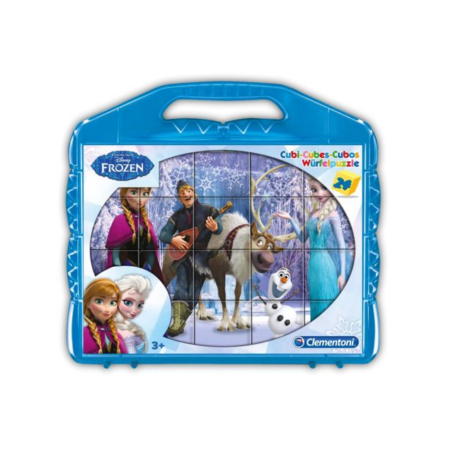 CLEMENTONI Puzzle 24 cubes Disney : Le Reine des neiges Frozen