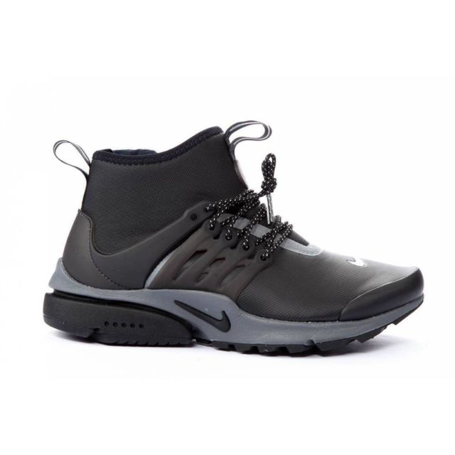Nike - Basket W Air Presto Mid Utility Noir - 40 - pas cher Achat / Vente Baskets femme - RueDuCommerce