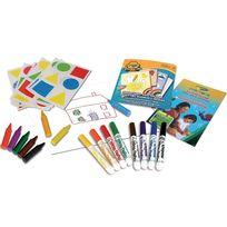 Crayola - Mon premier coffret de coloriage et de gommettes Mini Kids