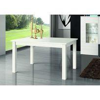 Kronos - Table A Manger Rectangulaire Extensible 135/180 Finition Polar Mod. M-300