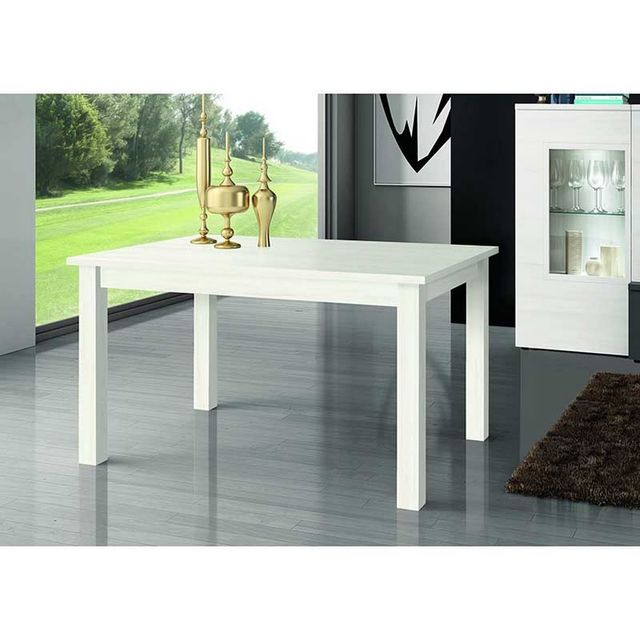 Kronos table a manger rectangulaire extensible 135 180 Table a manger carrefour