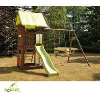 Soulet - Aire de jeux bois Bella