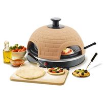 Rocambolesk - Superbe Four à mini pizza Pizzarette pour 4 personnes Emerio Po-110449 neuf