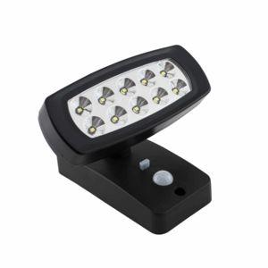 vsolar projecteur solaire v70 avec d tecteur de mouvement noir pas cher achat vente. Black Bedroom Furniture Sets. Home Design Ideas