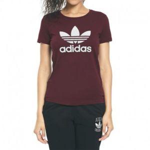 tee shirt adidas bordeaux femme