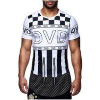 David Gerenzo - Tee shirt fashion T-shirt G-d 128 Blanc
