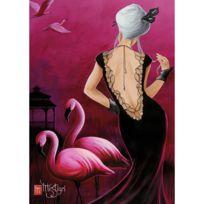 Nathan - Puzzle 1000 pièces : Pink Flamingo, Misstigri
