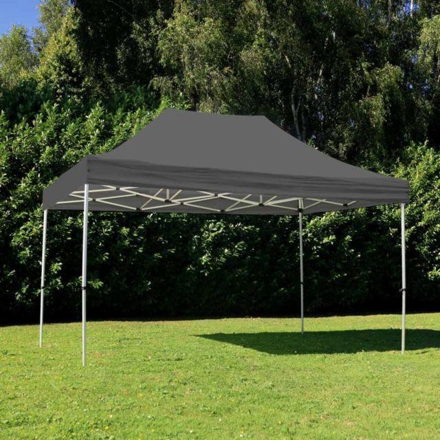 Mobeventpro Tente pliante 3x4,5m 300g/m² 40MM Grise