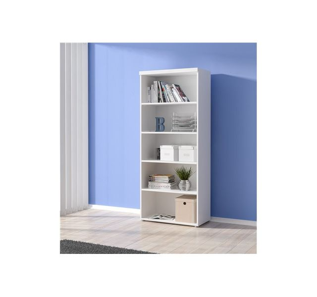 Chloe Design - Bibliotheque pour bureau Carla - blanc - pas cher ...