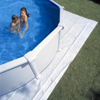 Gré - tapis de sol dream pool piscines rondes 6 tailles disponibles Ø 400 cm
