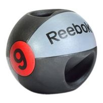 Reebok Fitness - Ballon médicinal Reebok Double Grip 9 kg