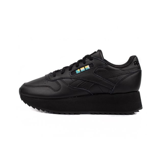 1ca5146193d5a Reebok - Basket Reebok Classic Leather Double Gigi Hadid - Dv5392. Couleur    Noir
