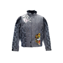 Ed Hardy by Christian Audigier - Ed Hardy - Veste Textile Ed Hardy Piston Skull