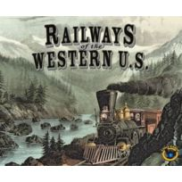 Eagle Games - Jeux de société - Railways of the Western Us
