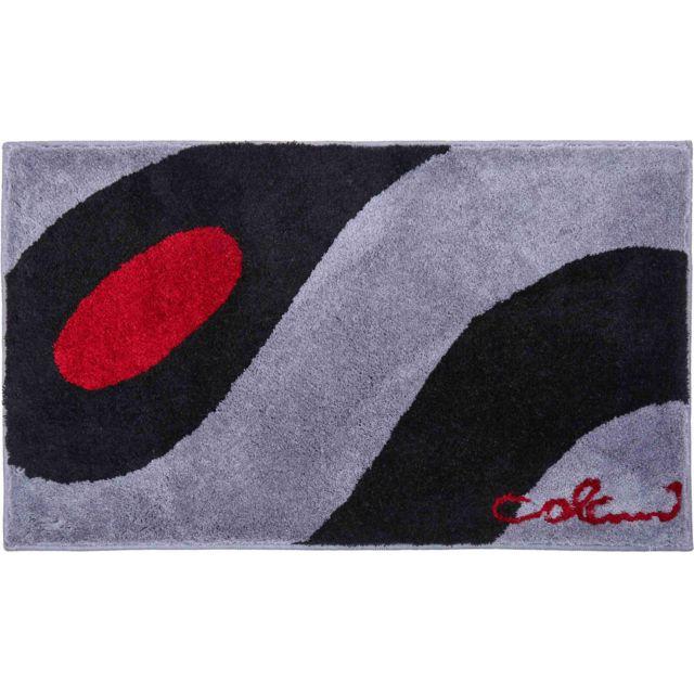 Esh Tapis De Salle De Bain Colani 35 Gris Noir 70 X 120 Cm 70cm