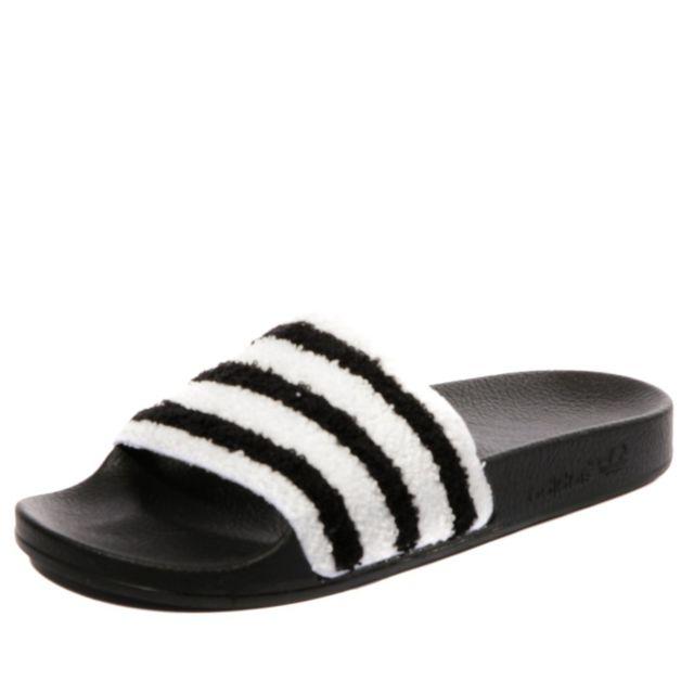 best cheap best cheap shop best sellers Adidas originals - Adilette Femme Claquettes Noir Adidas ...
