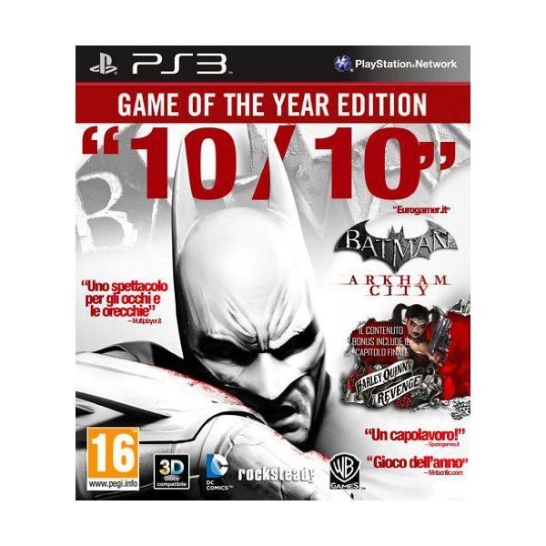 Batman Arkham City - game of the year edition import italien