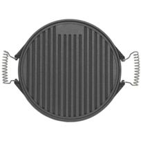 ALPERK - Plancha ronde reversible en fonte