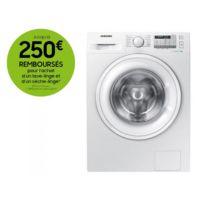 Samsung - Lave-linge - WW80J5555DA - Blanc