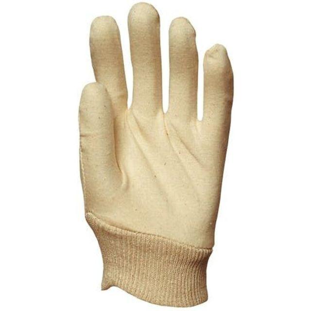 Eurotechnique Gants de travail précision coton cousus 4115 Lot de 300 paires