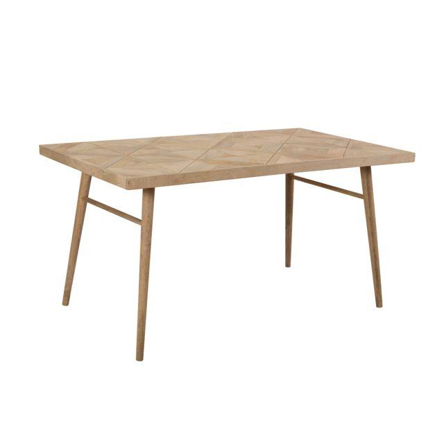 Rendez Vous Deco Table rectangulaire Varys 150 cm en bois