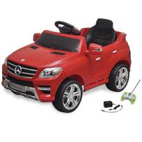 Rocambolesk - Superbe Voiture électrique 6 V avec télécommande Mercedes Benz Ml350 rouge neuf