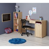 Bureau avec 1 tiroir - Chêne