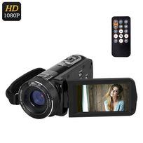 Shopinnov - Camescope numerique Hd 1080P Zoom numerique 16x Stabilisateur Capteur 8MP