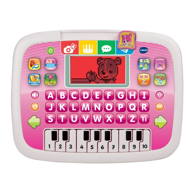 Vtech - Tablette P'tit Genius Ourson rose - 139455