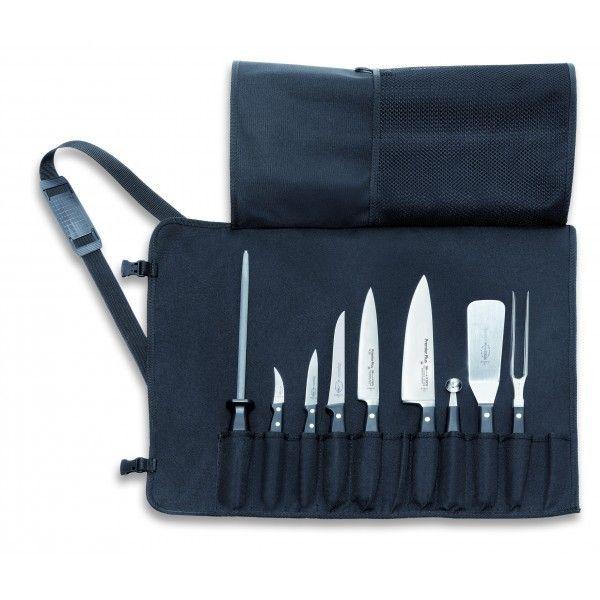 Dick Malette de chef 9 couteaux et ustensiles de qualité