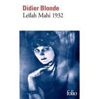 Gallimard - Leïlah Mahi 1932
