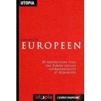 L'ESPRIT Frappeur - Manifeste européen